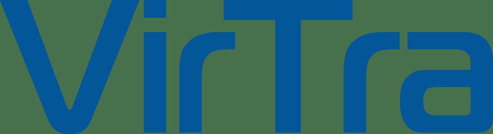 VirTra Logo Blue