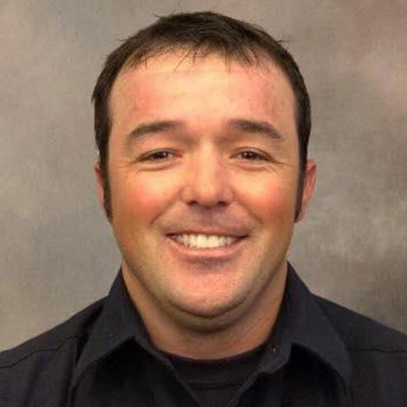 Firefighter Austin Peck